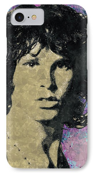 Jim Morrison Illustration IPhone Case