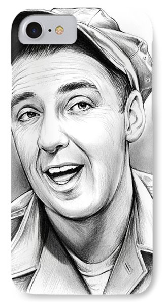 Jim Nabors IPhone Case by Greg Joens