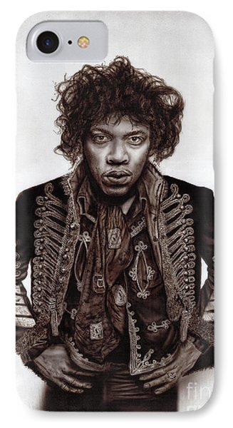 Jimi Hendrix - Are You Experienced. IPhone Case by Alex Artman