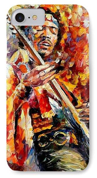 Jimi Hendrix  Phone Case by Leonid Afremov