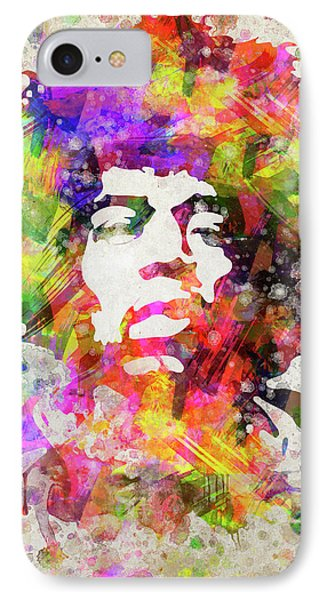 Jimi Hendrix Portrait IPhone Case