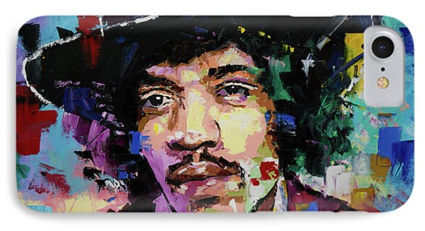 Jimi Hendrix Portrait II IPhone Case