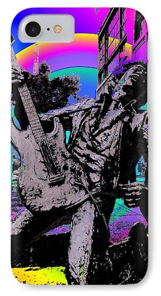 Jimi Hendrix IPhone Case by Tim Allen