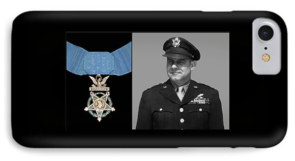 Jimmy Doolittle And The Medal Of Honor IPhone Case