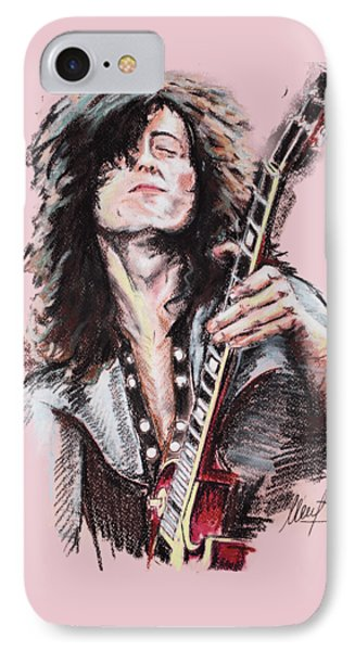 Jimmy Page IPhone 7 Case