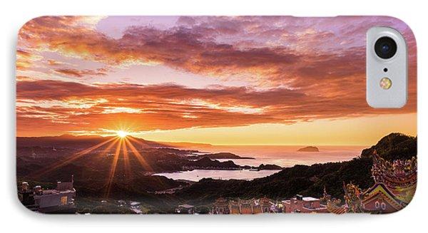 Jiufen Sunset IPhone Case