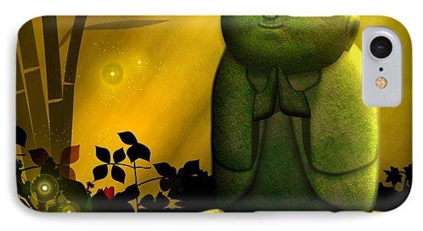 Jizo Bodhisattva IPhone Case