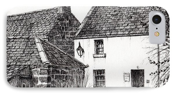 Jm Barrie's Birthplace IPhone Case by Vincent Alexander Booth
