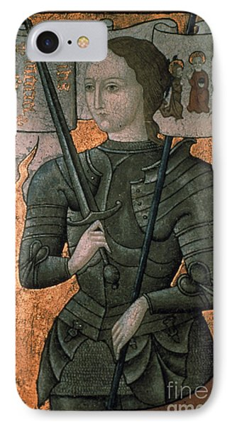 Joan Of Arc (c1412-1431) IPhone Case by Granger