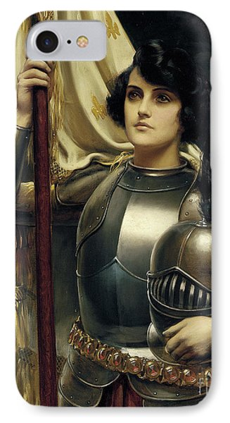 Joan Of Arc IPhone Case by Harold Hume Piffard
