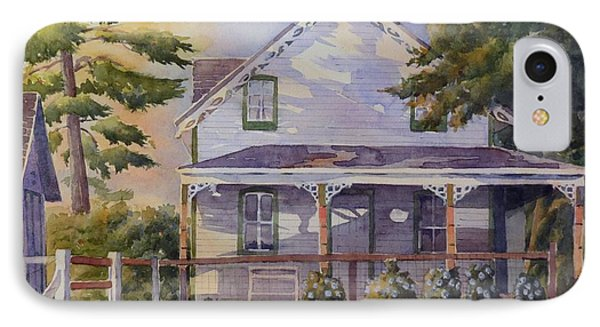 Joanne's House IPhone Case by David Gilmore