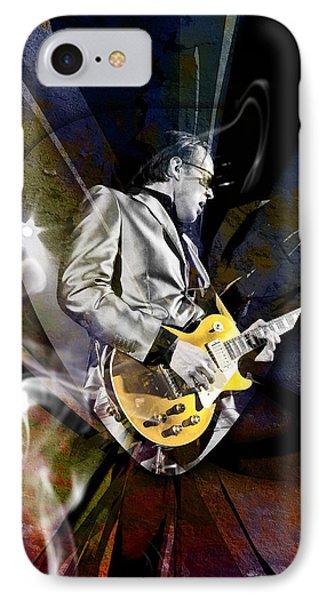 Joe Bonamassa Blues Guitarist Phone Case by Marvin Blaine