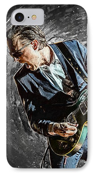 Joe Bonamassa IPhone Case by Taylan Apukovska