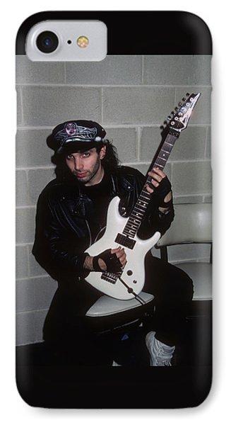 Joe Satriani Phone Case by Rich Fuscia