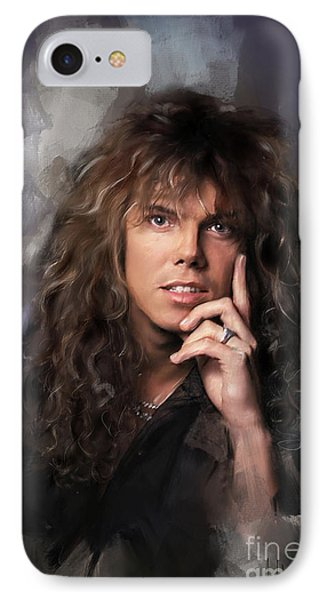 Joey Tempest IPhone Case