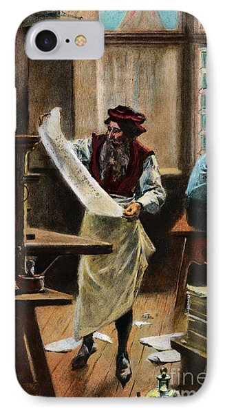 Johann Gutenberg Phone Case by Granger