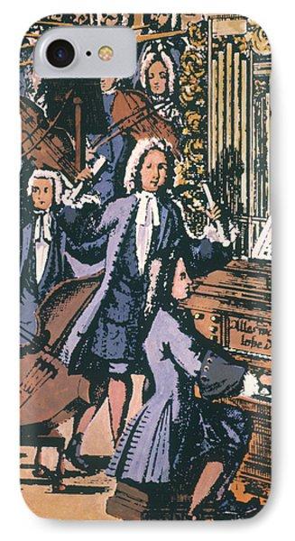 Johann Sebastian Bach, 1732 Phone Case by Granger