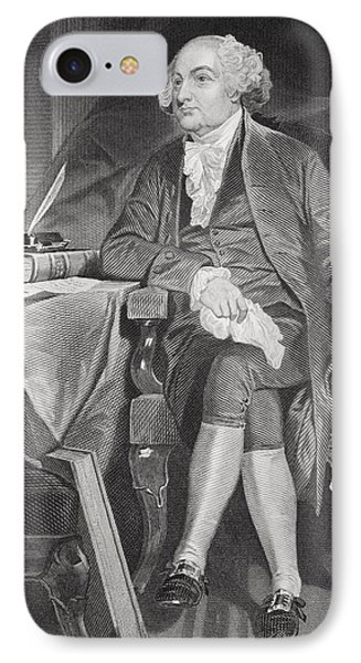 John Adams 1735-1826. First IPhone Case by Vintage Design Pics