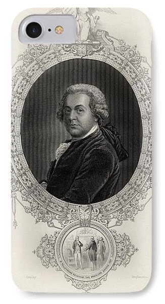 John Adams 1735-1826 First Vice IPhone Case by Vintage Design Pics