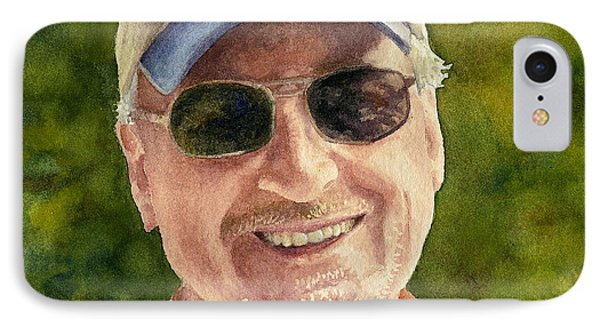 IPhone Case featuring the painting John by Anne Gifford