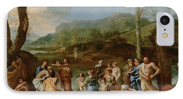 John Baptizing In The River IPhone Case