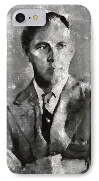 John Barrymore, Actor IPhone Case by Mary Bassett