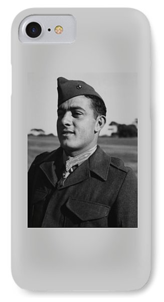 John Basilone IPhone Case by War Is Hell Store