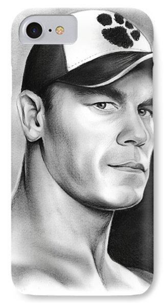 John Cena IPhone Case by Greg Joens