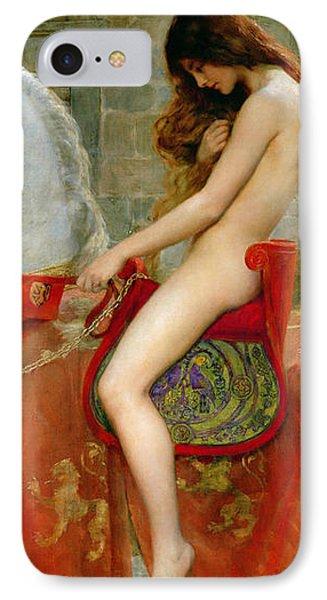 Lady Godiva IPhone Case by John Collier