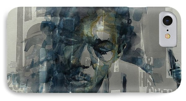 John Coltrane  IPhone Case by Paul Lovering