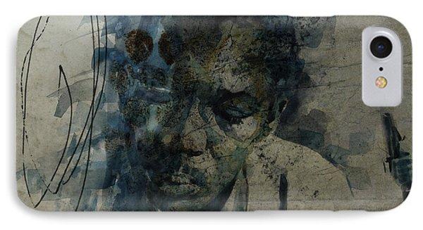 John Coltrane / Retro IPhone Case by Paul Lovering