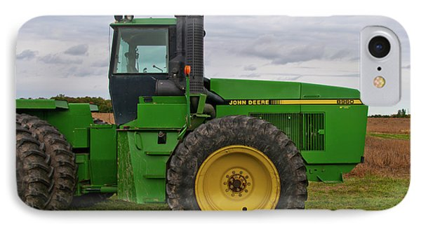 IPhone Case featuring the photograph John Deere Green 3159 by Guy Whiteley