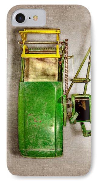 John Deere Harvester Top IPhone Case by YoPedro