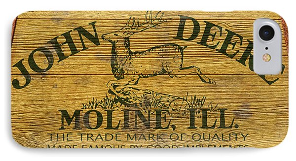 John Deere Sign Phone Case by WB Johnston