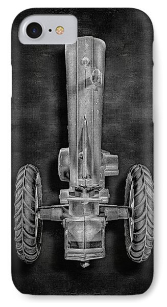 IPhone Case featuring the photograph John Deere Top Bw by YoPedro