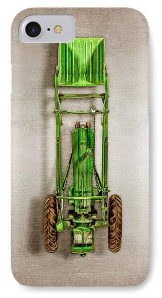 John Deere Tractor Loader IPhone Case by YoPedro