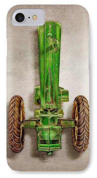 John Deere Tractor Top IPhone Case by YoPedro