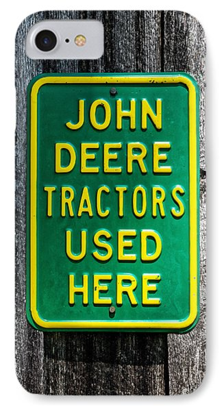 John Deere Used Here IPhone Case