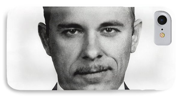 John Dillinger - Bank Robber And Gang Leader IPhone Case