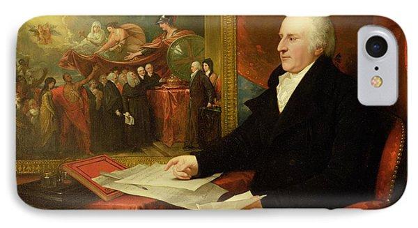 John Eardley Wilmot  IPhone Case by Benjamin West