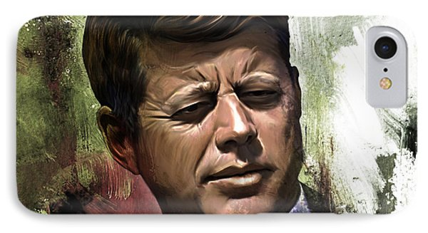 John F. Kennedy 01 IPhone Case
