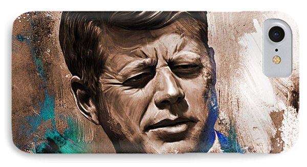John F. Kennedy 02 IPhone Case