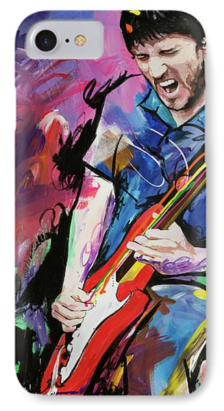 John Frusciante Phone Case by Richard Day
