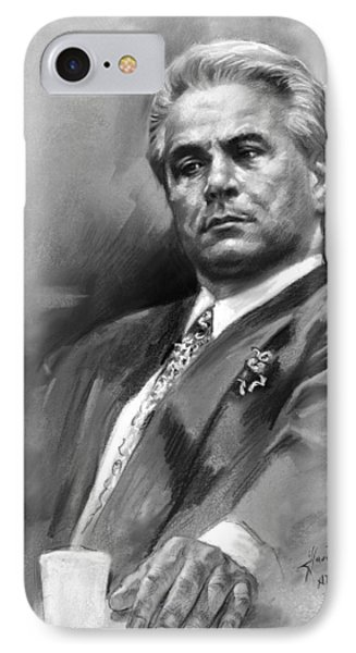 John Gotti Phone Case by Ylli Haruni