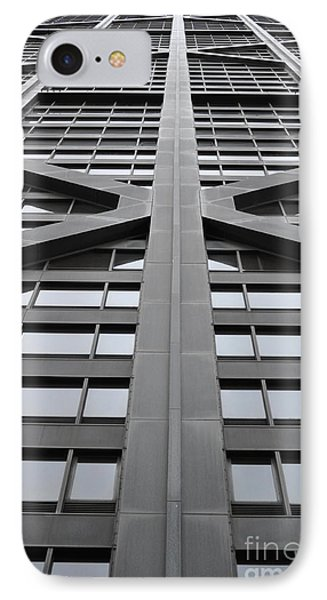 John Hancock Building IPhone Case by Mary Machare