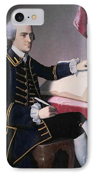 John Hancock IPhone 7 Case by John Singleton Copley