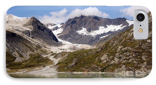 John Hopkins Glacier 5 IPhone Case by Richard J Cassato