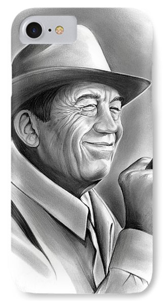 John Huston IPhone Case by Greg Joens