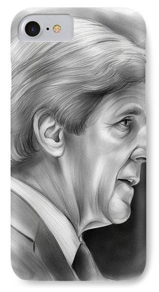 John Kerry IPhone Case by Greg Joens