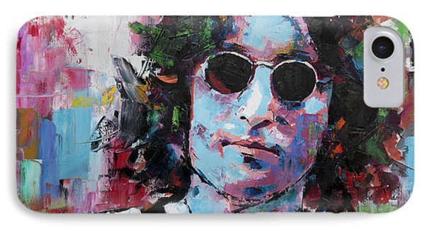 John Lennon IPhone Case by Richard Day